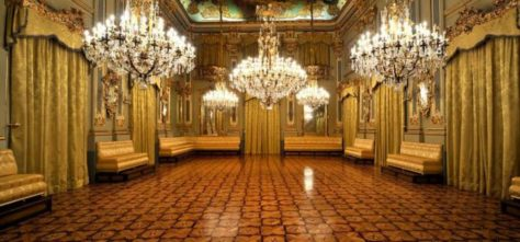 Salón de baile. Real casino Murcia.