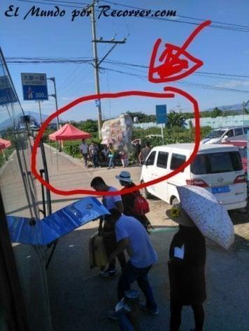 como llegar autobus dali lijiang
