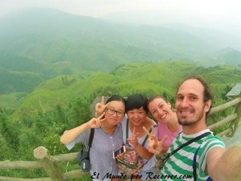 guillin guilin terrazas arroz visitar ver china rice terrace travel mundo recorrer como llegar
