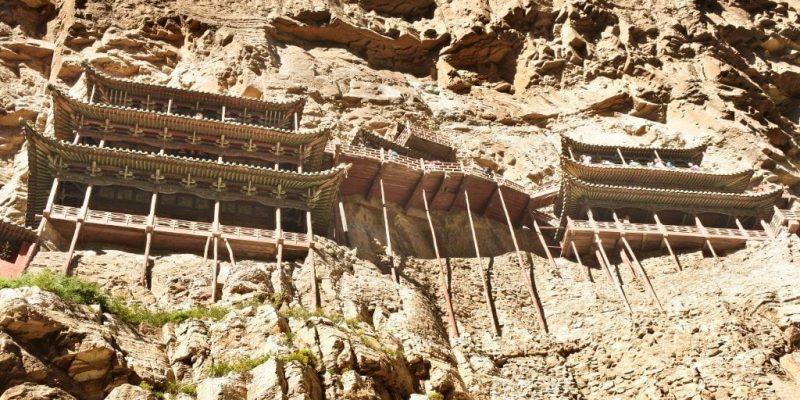 El Monasterio colgante Xuankong en Datong. Cómo llegar