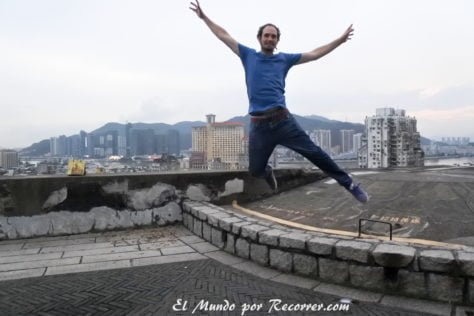 Vistas de Macau desde la Fortaleza do Monte