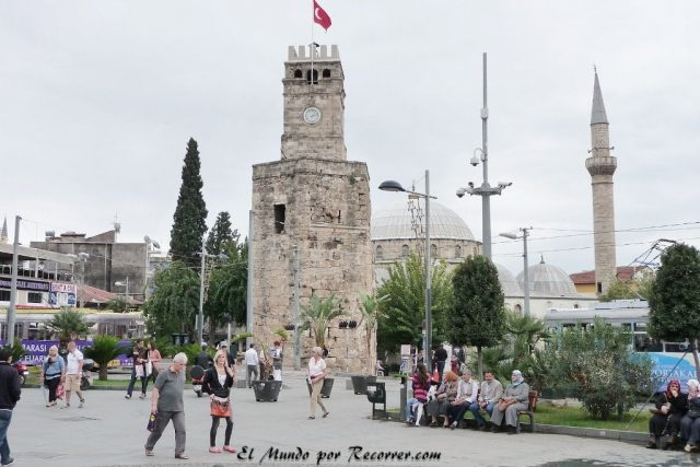 the clock tower antalya