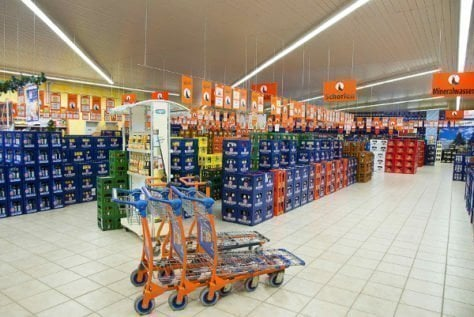 Supermercado de bebidas