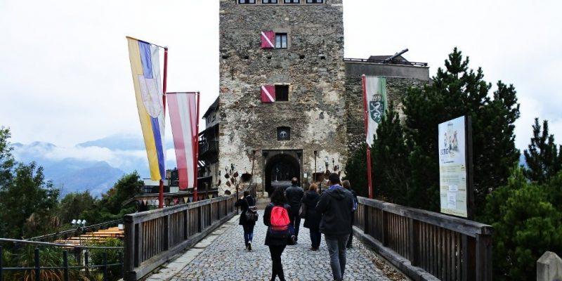 Kapfenberg castillo fachada oberkapfenberg burg schloss
