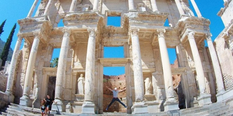 Fachada de la biblioteca de Celso en Éfeso