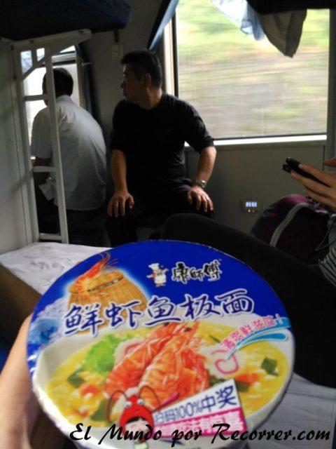 comida trenes china
