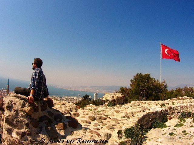 tuquia turkey bandera flag castillo kadi