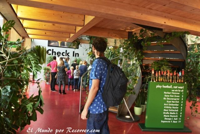 Check-in para la visita a Zotter
