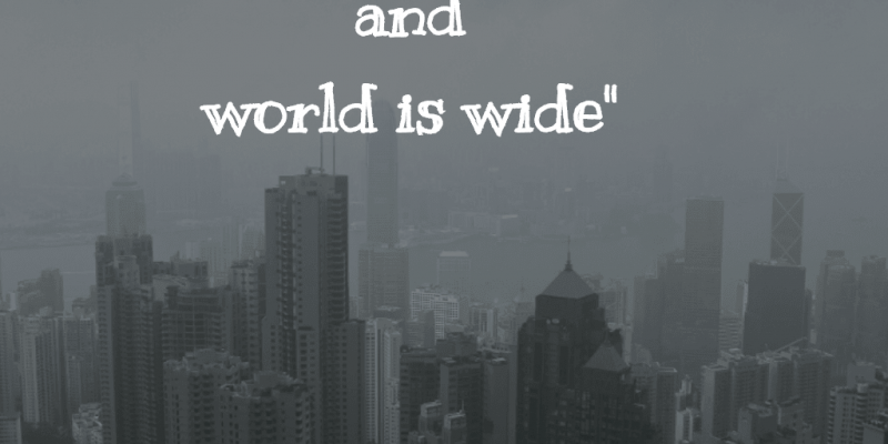 Citas Viajar Travel quote Frases motivacion wanderlust life is short world wide