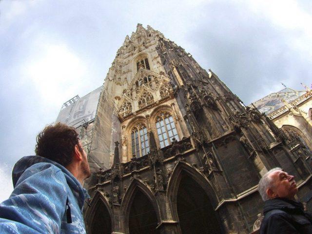 Torre norte de la catedral de St. Stephan