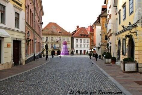 Calles de Ljubjana