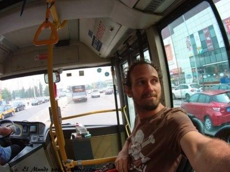 China beijing autobus bus
