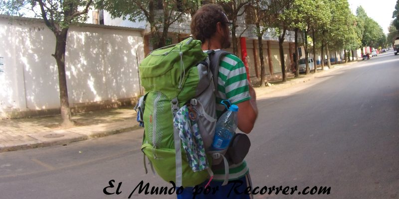 mochila travel