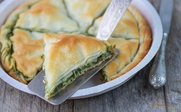 spanakopita greek spinach pie