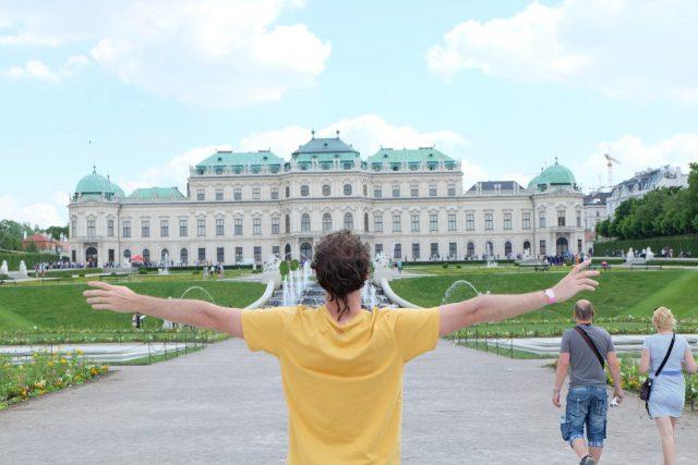 viena palacio de beldebere Austria