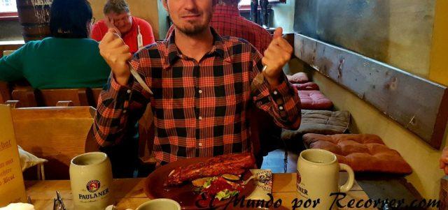 costillas erfurt alemania restaurante medieval Christoffel