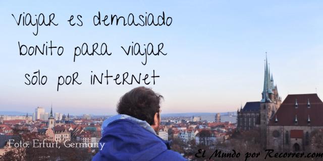 Citas Viajar Travel quote Frases motivacion wanderlust viajar demasiado bonito para internet solo