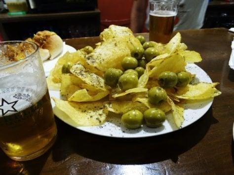 patatas olivas pimienta limon murcia