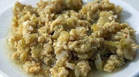 zarangollo Murciano comida tipica