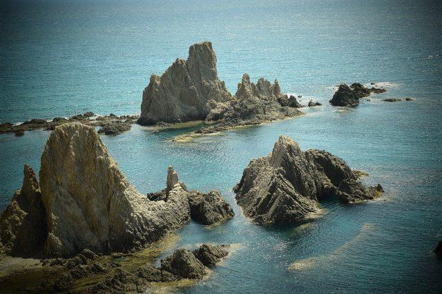 Foto desde el mirador en el Arrecife de las Sirenas