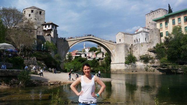 Balcanes mostar bosnia puente stari most mochileros viajar