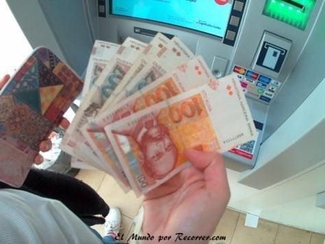 Croacia kunas moneda divisa croatia
