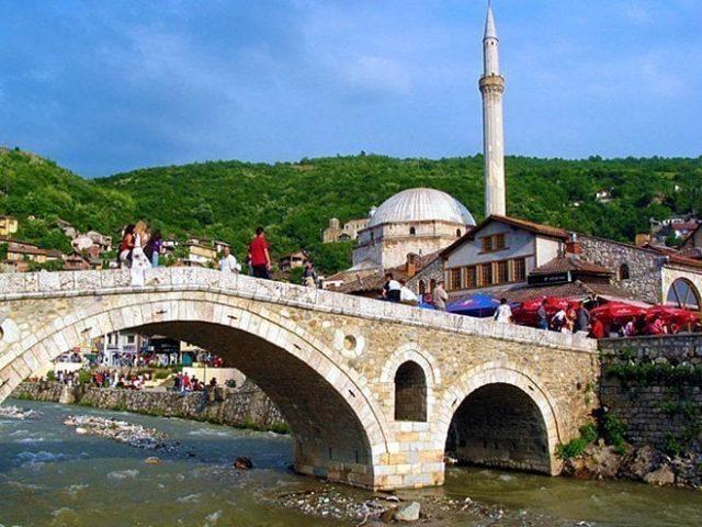 kosovo prizren stary most