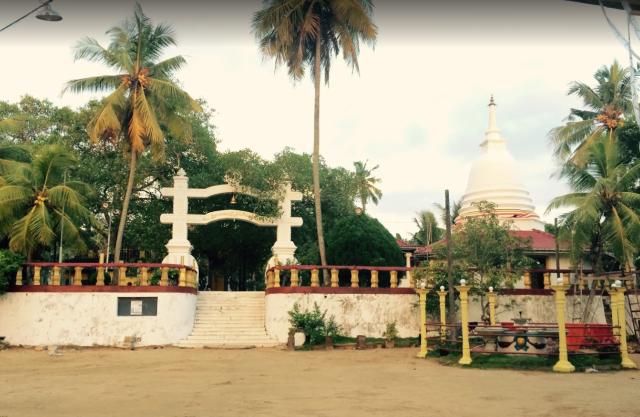 Templo Jananandharamaya Hikkaduwa Sri lanka
