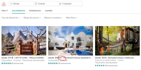 airbnb descuento cupon reserva inmediata