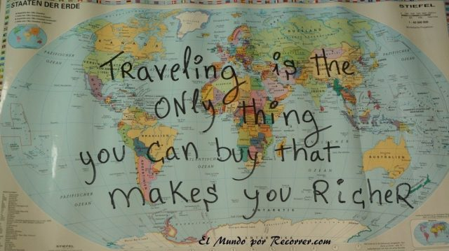 travelling is the only thing you can buy that makes you richer travel quotes citas viajeras frases