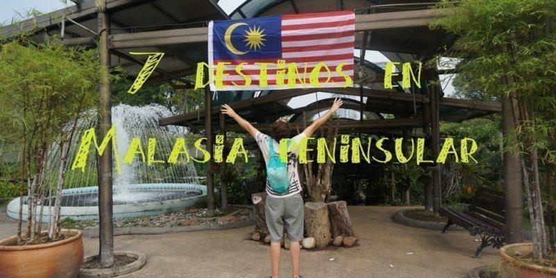 destinos malasia peninsular