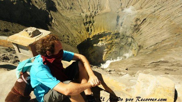 Bromo volcan crater subir gratis