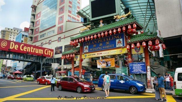 Kuala Lumpur Malasia China town petaling street
