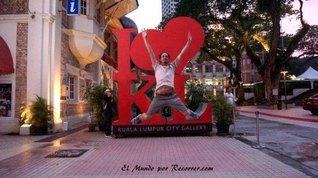 Kuala Lumpur Malasia I love KL
