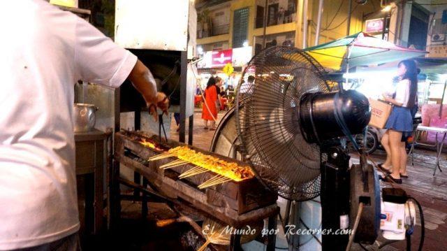 Kuala Lumpur Malasia Jalon alor comida