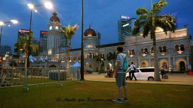 Kuala Lumpur Malasia main square plaza