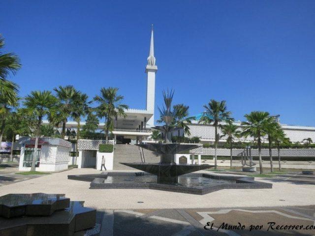 Kuala Lumpur Malasia national mezquita