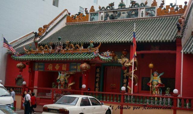 Kuala Lumpur Malasia templo