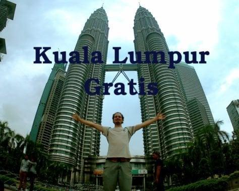 Kuala Lumpur Malasia torres petronas gratis