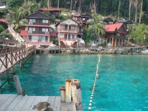 Panuba Bay islas tioman