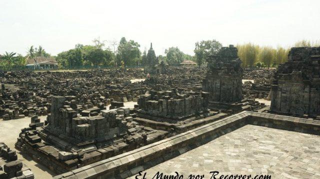 Prambanan templo Yogjakarta sewu