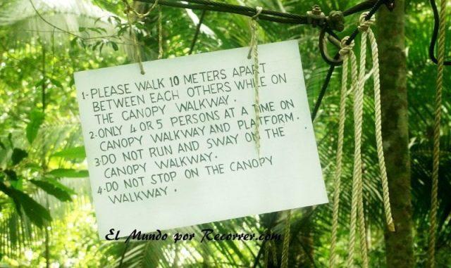 Taman Negara canopy walk rules