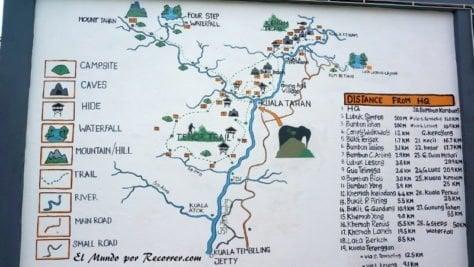 Taman Negara mapa plano general