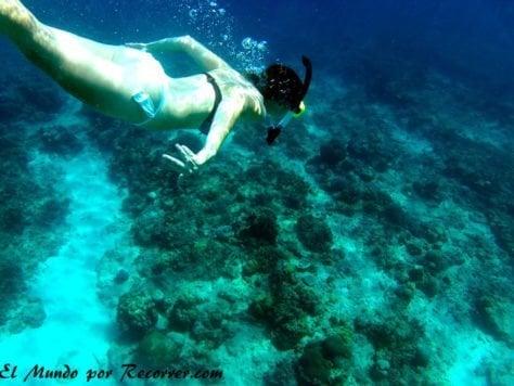 islas gili air snorkel