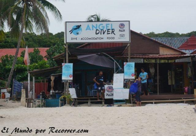 islas perhentian malasia angel divers