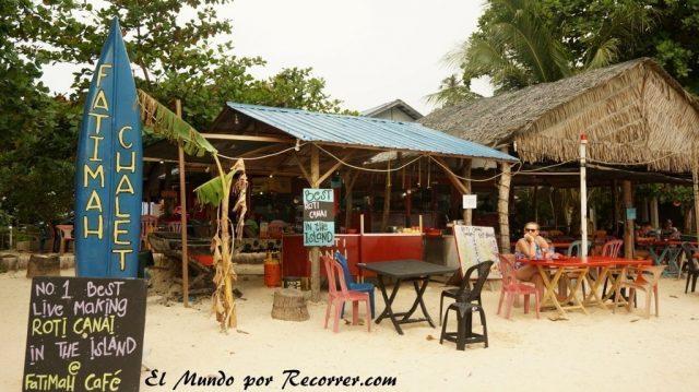 islas perhentian malasia fatimah cafe roti