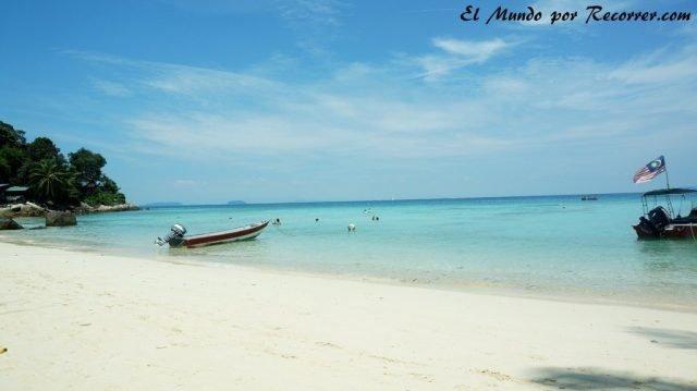 islas perhentian malasia playa coral bay