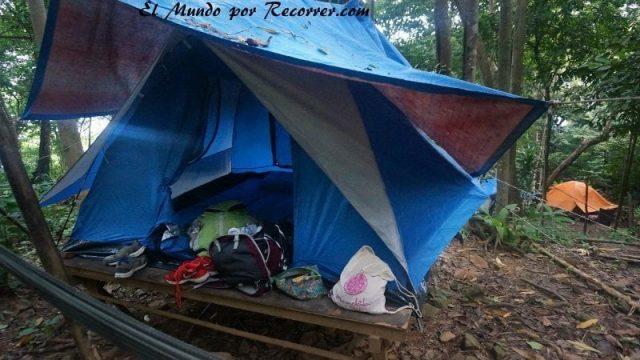 islas perhentian malasia rainforest camping kecil