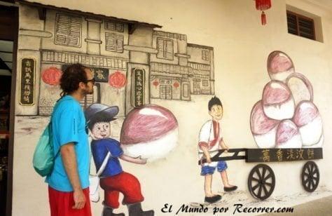 penang malasia street art