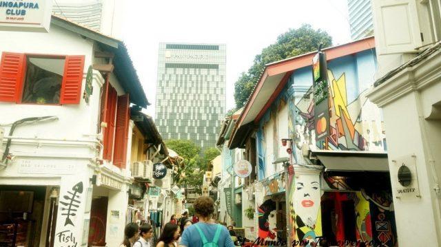 singapur barrio arabe colorido